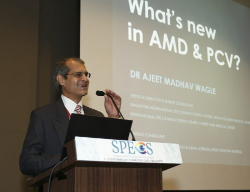 Dr Ajeet Madhav Wagle Looks at What's New in Age-related Macular Degeneration and Polypoidal Choroidal Vasculopathy at SPECS 2017