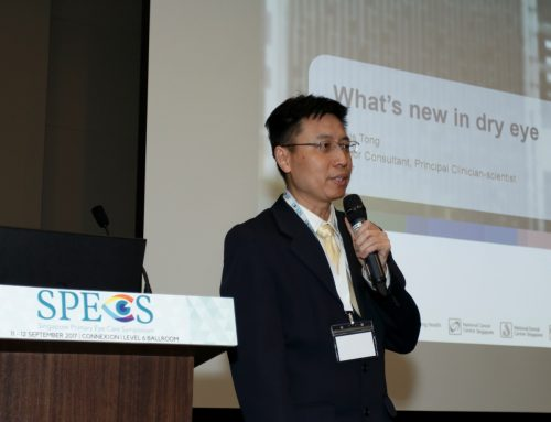 A/Prof Louis Tong Gives Updates on Dry Eye at SPECS 2017