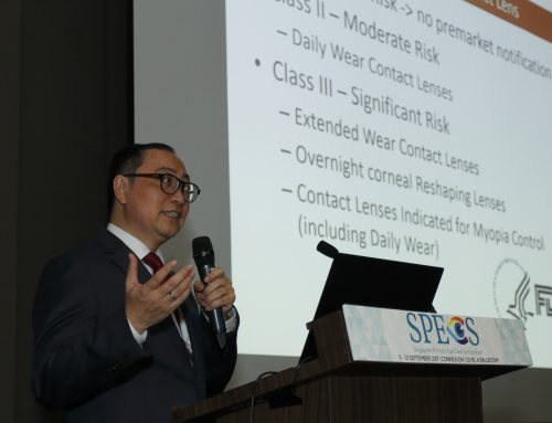 Mr Simon Lam Highlights Effectiveness of Orthokeratology for Myopia Control at SPECS 2017