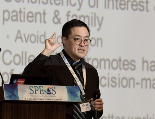 Dr Peter Loke Chi Wei Gives Tips to Minimise Medicolegal Risk in Primary Eye Care at SPECS 2018