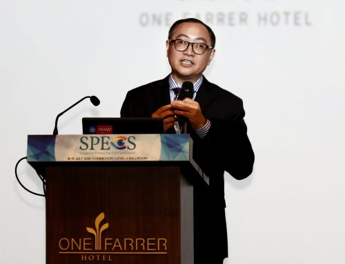 Mr Simon Lam Gives Tips and Pearls on Fitting Different Specialty Contact Lenses at SPECS 2018