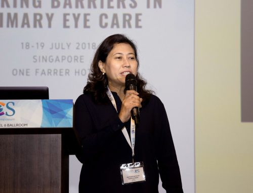 Professor Datuk Dr Rokiah Hj Omar Shares the Importance of Incorporating Low Vision Services as Part of Vision Care at SPECS 2018