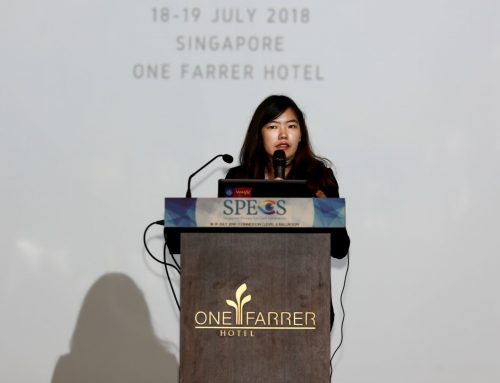Ms Wong Shu Ting Discusses Cosmetic Contact Lenses at SPECS 2018