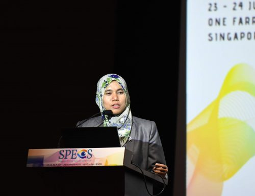 Dr Mizhanim Mohamad Shahimin Addresses Issues Regarding Quality of Life in Contact Lens Wearer